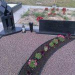 Paminklai kapams  paminklai   iauliuose  plok  t  mis dengti kapai  pig  s paminklai visoje Lietuvoje  pig  s antkapiai foto 150x150 - Trijų dalių paminklai