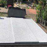 Paminklai Kapo tvarkymas Granito plokstes Klaipeda Dviviete kapaviete 150x150 - Plokštėmis dengti kapai