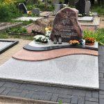 Granito plokstes kapu tvarkymas 150x150 - Plokštėmis dengti kapai