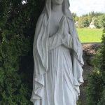 Marija kapams paminklai kapu tvarkymas granito plokstes 150x150 - Skulptūros kapams