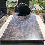 Paminklai Kapo tvarkymas Granito plokstes Klaipeda Dvivietis kapas 150x150 - Plokštėmis dengti kapai