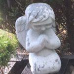 Paminklai kapu tvarkymas granito skulptura angelas 150x150 - Skulptūros kapams