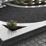 Kapu tvarkymas Kursenuose paminklai dalinai dengtas kapas granito plokstemis 150x150 - Plokštėmis dengti kapai